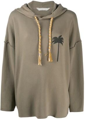 Palm Angels Palm Tree Motif Hoodie
