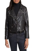 Rebecca Minkoff Women's Wes Leather Moto Jacket