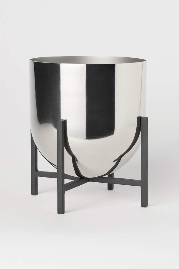 H&M Plant Pot on Pedestal
