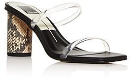 Dolce Vita Women's Noles Column-Heel Slide Sandals