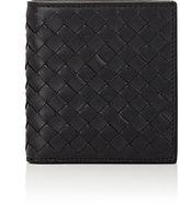 Bottega Veneta Men's Intrecciato Mini-Billfold-BLACK