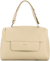 Furla foldover top tote - women - Leather - One Size
