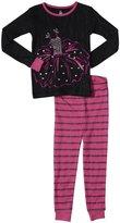 Petit Lem Rock Ballet 2 Piece PJ Set (Toddler/Kid) - Black-2