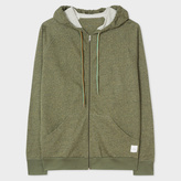 Paul Smith Men's Khaki Loopback-Cotton Hoodie