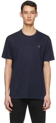 Polo Ralph Lauren Navy Classic-Fit Crewneck T-Shirt