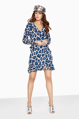 Paper Dolls Leopard Swing Dress