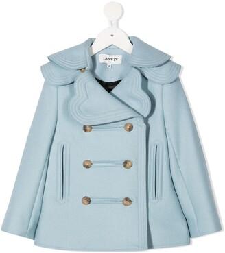 Lanvin Enfant Double-Breasted Jacket