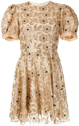 Macgraw Merci embellished mini dress