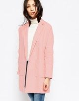 Yumi Oversized Coat With Pockets