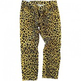 R 13 Yellow Denim - Jeans Trousers for Women