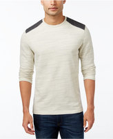 Alfani Men's Space-Dyed Long-Sleeve T-Shirt, Only at Macy's