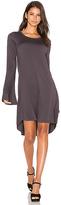 Michael Lauren Kipp Mini Dress