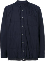 Sacai Quilted shirt jacket - men - Cotton/Polyester - 2