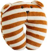 Kylin Express Lovely White/Coffee Stripes Neck/ Head Support Pillow Kid's U Shape Pillow
