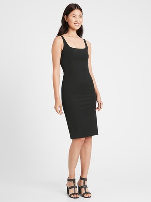 Banana Republic Petite Sloan Sheath Dress