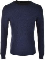 Luke 1977 Unbeweavable Knit Jumper Blue