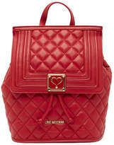 Love Moschino Diamond Quilted Convertible Backpack