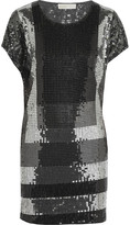 MICHAEL Michael Kors Color-block sequined mini dress