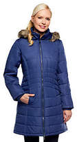Susan Graver Puffer Coat w/ Removable Faux FurTrimmed Hood