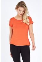 Select Fashion Fashion Women's Zip Back T-Shirt T-Shirts - size 8