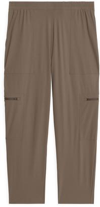 Arket Warp Knit Trousers