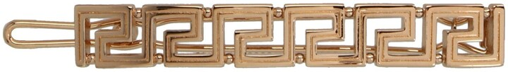 Thumbnail for your product : Versace Greca Hair Clip