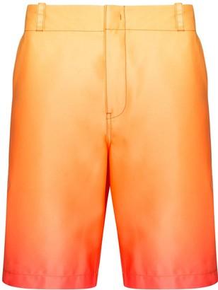 Sies Marjan Sterling Degrade bermuda shorts