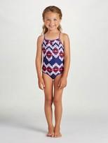 Oscar de la Renta Ikat Classic Swimsuit