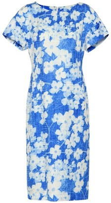 Dries Van Noten Floral cotton-blend dress