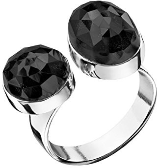 Canyon Women 925 Sterling Silver silver Onyx FINERING