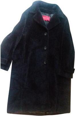 Gerard Darel Brown Wool Coat for Women