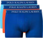 Polo Ralph Lauren - Three-Pack Stretch-Cotton Jersey Boxer Briefs