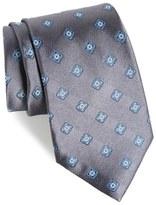 Nordstrom Bright Neat Silk Tie (X-Long)