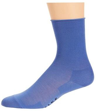 Falke Active Breeze Sock (Blue Iris) Women's Crew Cut Socks Shoes