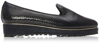 Moda In Pelle Eadlow Black Lizard