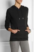 Zoe Karssen Cotton-blend jersey hooded sweatshirt
