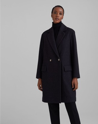 Club Monaco Relaxed Double-Breasted Coat