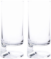 Arnolfo Di Cambio Joe Columbo Smoke Bibita Highball Glass - Set of 2 - Clear