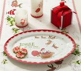 Pottery Barn Kids Jingle All the Way Serving Platter