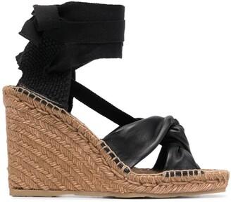 Jimmy Choo Dayla 110mm wedge sandals