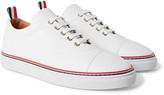 Thom Browne - Pebble-grain Leather Sneakers