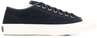 Visvim Canvas Low-Top Trainers
