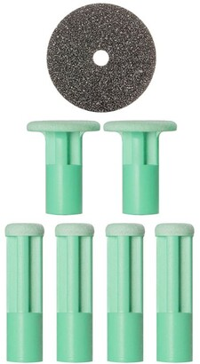 PMD Personal Microderm Mixed Green Replacement Discs (6 Pieces)