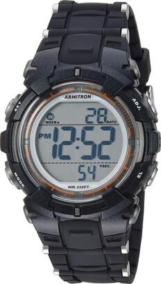 Armitron Sport Women's Quartz Sport Watch with Resin Strap
