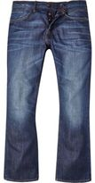 River Island Mens Mid wash Clint bootcut jeans
