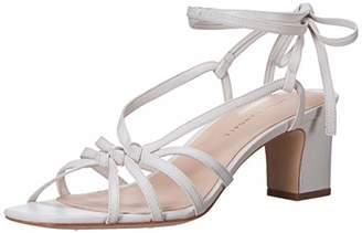 Loeffler Randall Women's Libby-N Heeled Sandal Optic White 5 Medium US