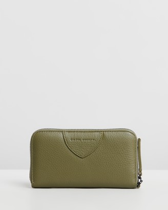Status Anxiety Moving On Continental Zip Wallet