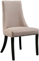 Modway Beige Fantasy Dining Side Chair