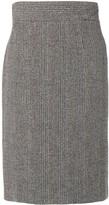 Prada Pre Owned knitted midi skirt