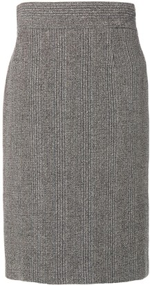 Prada Pre-Owned knitted midi skirt